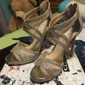 Glamour high heel shoes